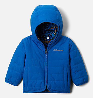 Toddler Double Trouble™ Reversible Jacket Double Trouble™ Jacket | 575 | 2T, Bright Indigo, front