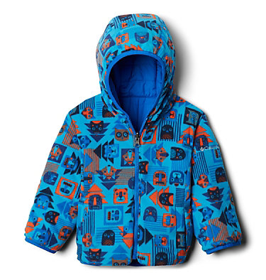 Toddler Double Trouble™ Reversible Jacket Double Trouble™ Jacket | 575 | 2T, Super Blue, Super Blue Critter Block, a1