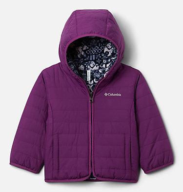Toddler Double Trouble™ Reversible Jacket Double Trouble™ Jacket | 575 | 2T, Plum, front