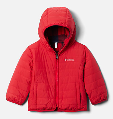 Toddler Double Trouble™ Reversible Jacket Double Trouble™ Jacket | 575 | 2T, Mountain Red, front