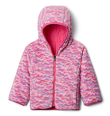 Toddler Double Trouble™ Reversible Jacket Double Trouble™ Jacket | 575 | 2T, Pink Ice, Pink Ice Trees, a1