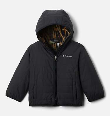 Toddler Double Trouble™ Reversible Jacket Double Trouble™ Jacket | 575 | 2T, Timberwolf, front