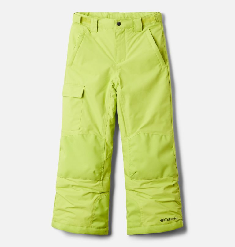 Bugaboo™ II Pant   386   M Youth Bugaboo™ II Ski Pant, Bright Chartreuse, front