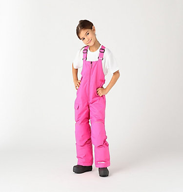 Girls' Snowslope II™ Bib Snowslope™ II Bib | 575 | XS, Pink Ice, front