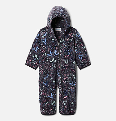 Infant Snowtop™ II Bunting Snowtop™ II Bunting | 435 | 12/18, Black Blooming Dot, Black, front