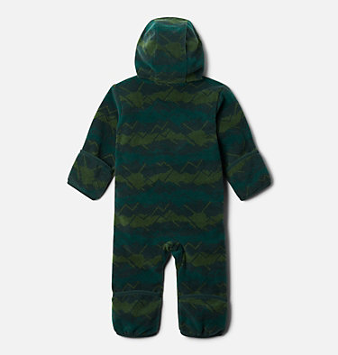 Infant Snowtop™ II Bunting Snowtop™ II Bunting   370   18/24, Spruce Dot Scape Print, Spruce, back