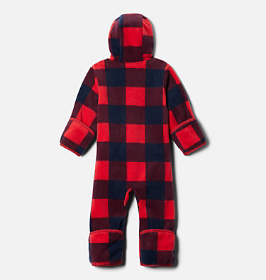 Infant Snowtop™ II Bunting Snowtop™ II Bunting | 435 | 12/18, Mtn Red Check (B) Print, Mountain Red, back