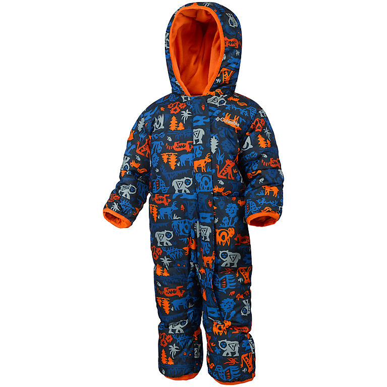 Columbia Boy//Girl 3-6 or 18-24 Months Down Filled Bunting Suit Snuggly Bunny