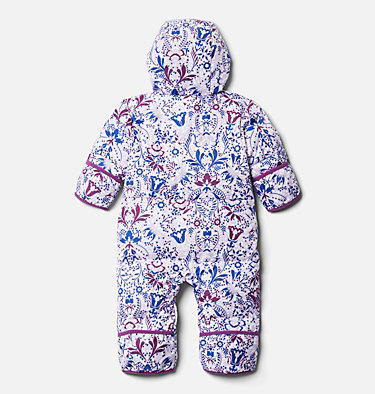 Infant Snuggly Bunny™ Bunting Snuggly Bunny™ Bunting | 689 | 3/6, Pale Lilac Blooming Dot Print, back