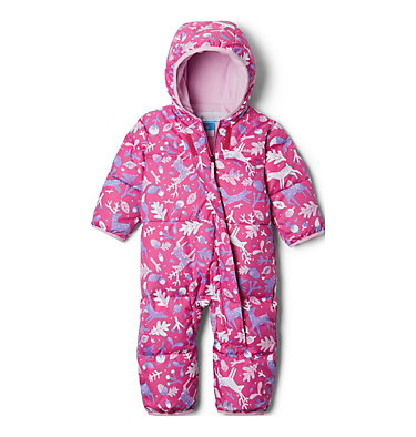 Snuggly Bunny™ Baby Bunting Snuggly Bunny™ Bunting | 101 | 0/3, Pink Ice Reindeer, Pink Clover, front