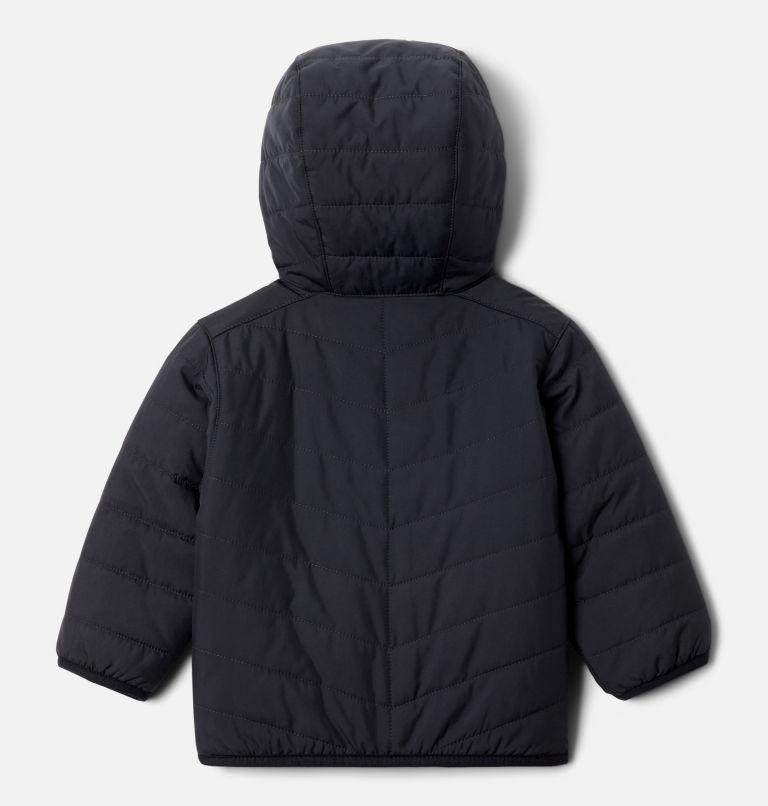 Double Trouble™ Jacket | 018 | 12/18 Infant Double Trouble™ Reversible Jacket, Black, back