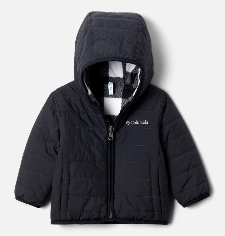 Double Trouble™ Jacket | 018 | 12/18 Infant Double Trouble™ Reversible Jacket, Black, front