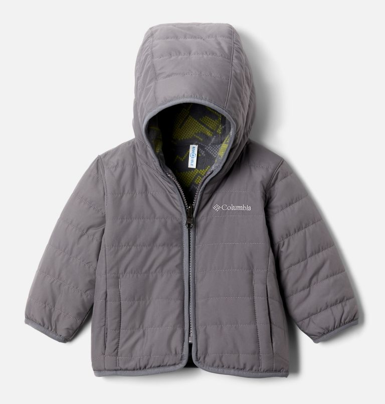 Infant Double Trouble™ Reversible Jacket Infant Double Trouble™ Reversible Jacket, front