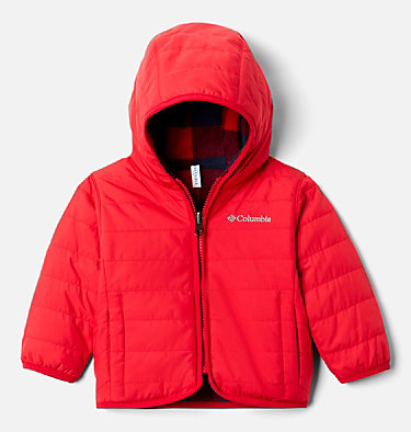 Infant Double Trouble™ Reversible Jacket Double Trouble™ Jacket | 356 | 18/24, Mountain Red, front