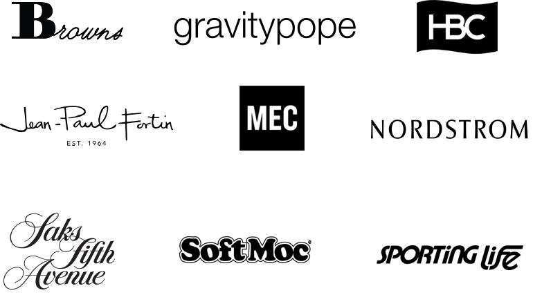 A collection of our key partner's logos