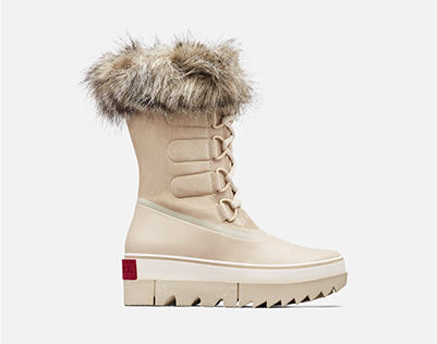 A Joan NEXT boot on a white background