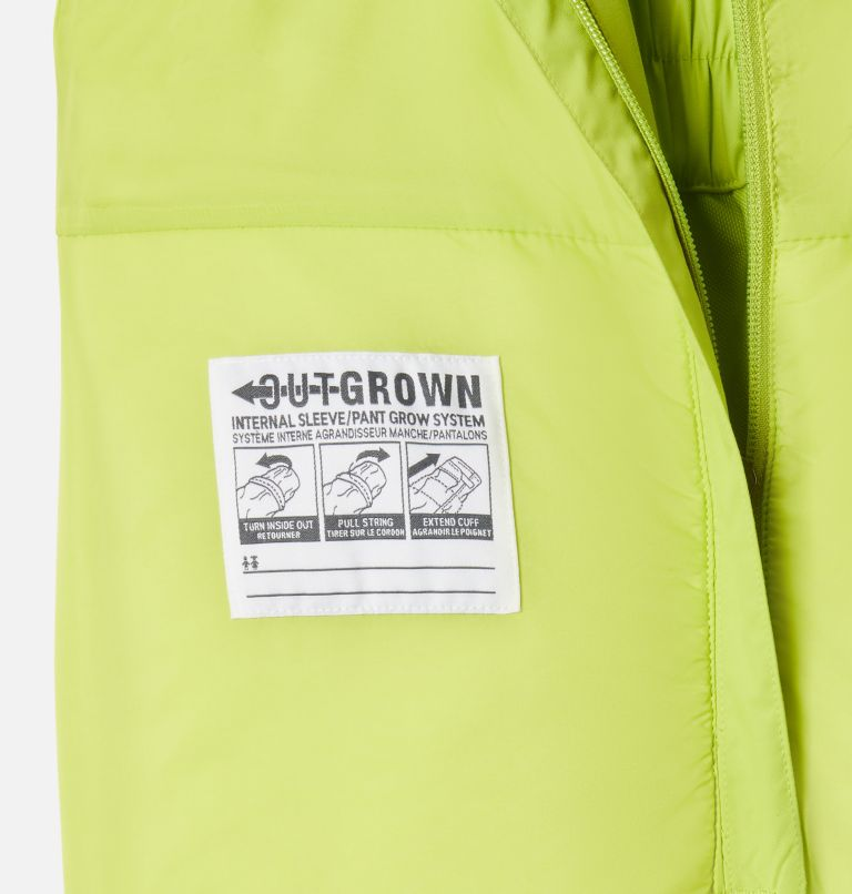Adventure Ride™ Bib | 386 | S Kids' Adventure™ Ride Bib, Bright Chartreuse, a1