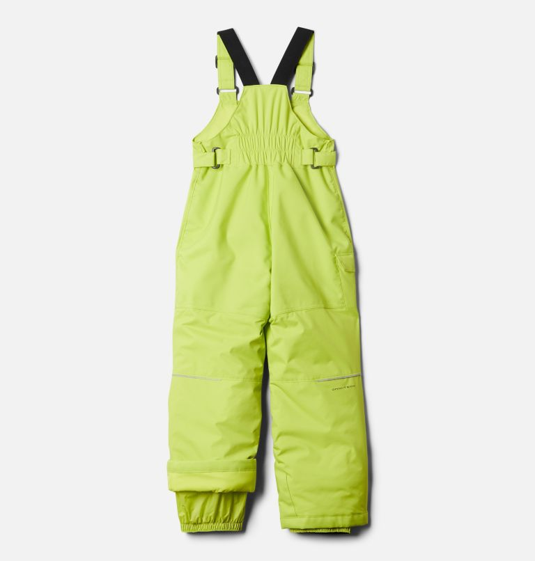 Adventure Ride™ Bib | 386 | S Kids' Adventure™ Ride Bib, Bright Chartreuse, back
