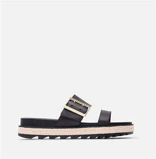 A SOREL Roaming Buckle Jute sandal