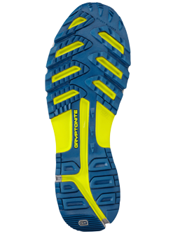 Illustration of shoe outsole