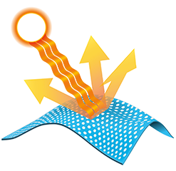 Illustration of Sun Deflector logo