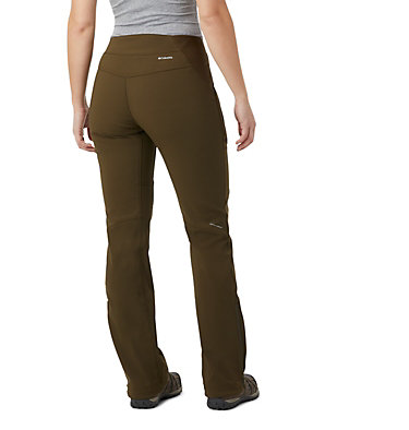 Women's Back Beauty™ Heat Straight Leg Pant Back Beauty Passo Alto™ Heat P | 319 | 10, Olive Green, back