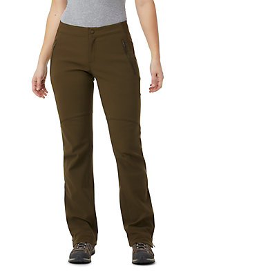 Women's Back Beauty™ Heat Straight Leg Pant Back Beauty Passo Alto™ Heat P | 319 | 10, Olive Green, front