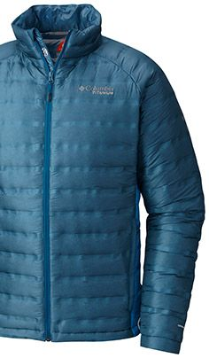 A jacket with Heat Seal Wave technology.