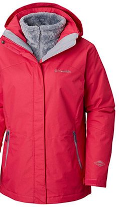 A jacket with Omni-Heat insulation.