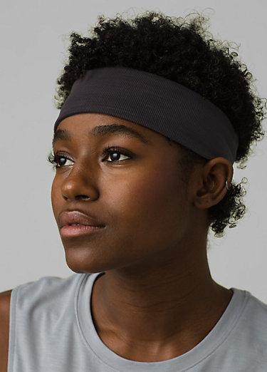 Reversible Headband Reversible Headband, Black Heather