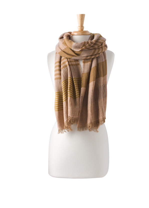 Flora Scarf Flora Scarf, Champagne