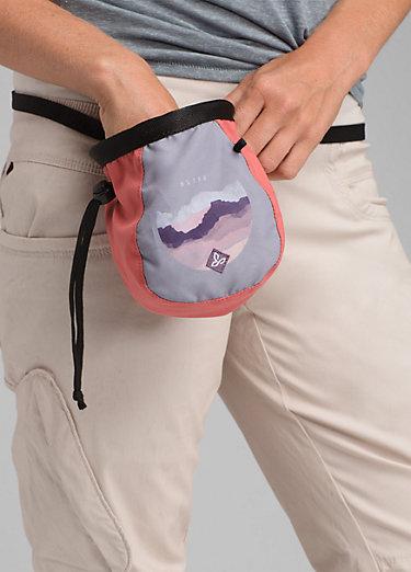 Women's Large Chalk Bag w/Belt