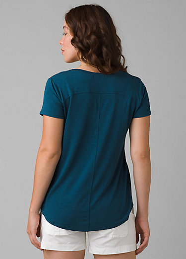 Foundation Short Sleeve V-neck Foundation Short Sleeve V-neck, Atlantic Heather