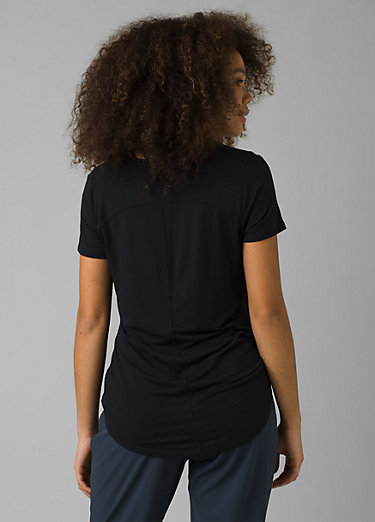 Foundation Short Sleeve V-neck Foundation Short Sleeve V-neck, Black
