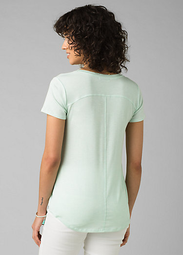 Foundation Short Sleeve V-neck Foundation Short Sleeve V-neck, Breeze Heather
