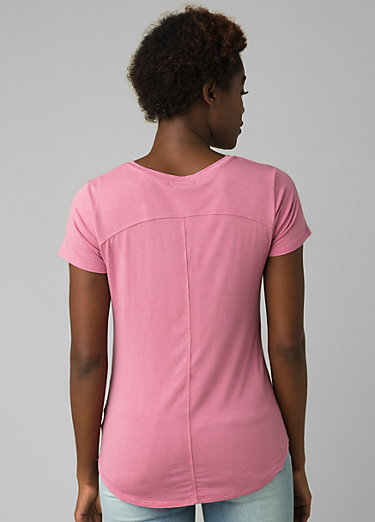 Foundation Short Sleeve V-neck Foundation Short Sleeve V-neck, Cassis Heather