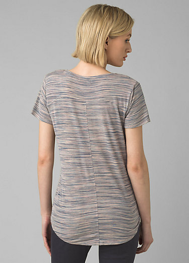 Foundation Short Sleeve V-neck Foundation Short Sleeve V-neck, Frost