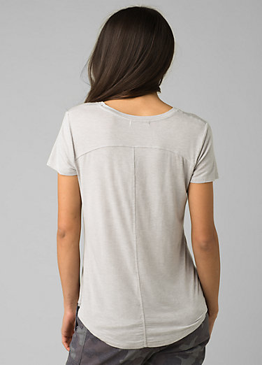 Foundation Short Sleeve V-neck Foundation Short Sleeve V-neck, Light Grey Heather