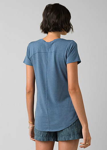 Foundation Short Sleeve V-neck Foundation Short Sleeve V-neck, Nickel Heather