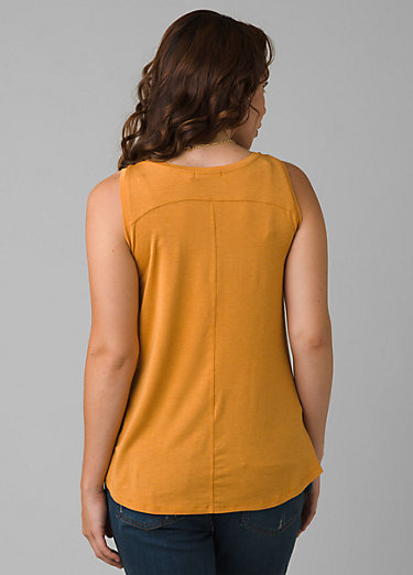 Foundation Scoop Neck Tank Foundation Scoop Neck Tank, Butterscotch Heather