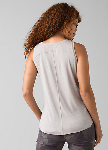 Foundation Scoop Neck Tank Foundation Scoop Neck Tank, Light Grey Heather