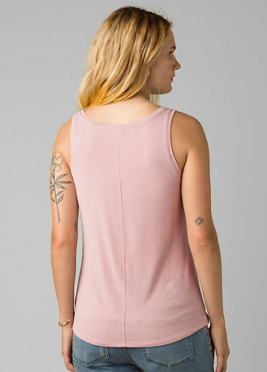 Foundation Scoop Neck Tank Foundation Scoop Neck Tank, Rosette Heather