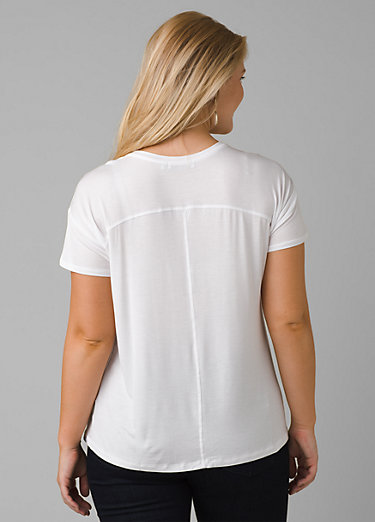 Foundation Slouch Top Foundation Slouch Top, White