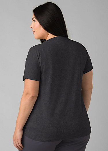 Cozy Up T-shirt Plus Cozy Up T-shirt Plus, Charcoal Heather