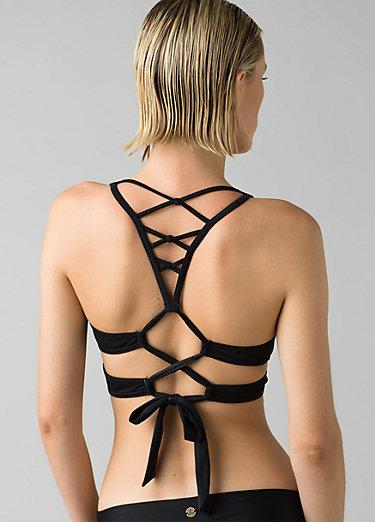 Atalia Bikini Top Atalia Bikini Top, Black Solid