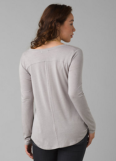Foundation Long Sleeve Crew Foundation Long Sleeve Crew, Light Grey Heather