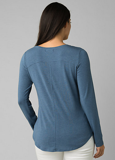Foundation Long Sleeve Crew Foundation Long Sleeve Crew, Nickel Heather