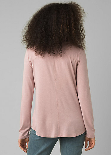 Foundation Long Sleeve Crew Foundation Long Sleeve Crew, Rosette Heather