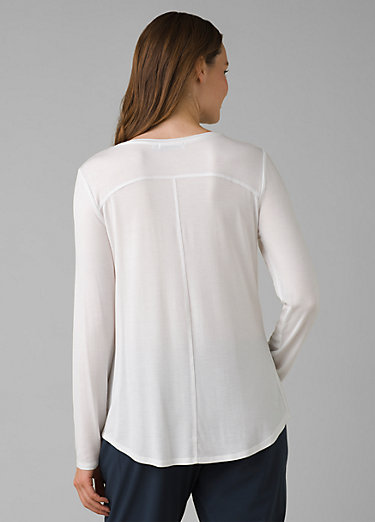 Foundation Long Sleeve Crew Foundation Long Sleeve Crew, White