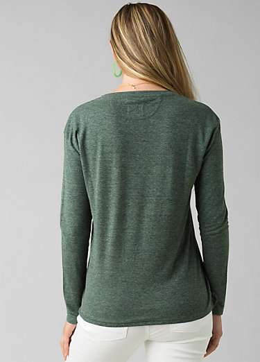 Cozy Up Long Sleeve Tee Cozy Up Long Sleeve Tee, Canopy Heather